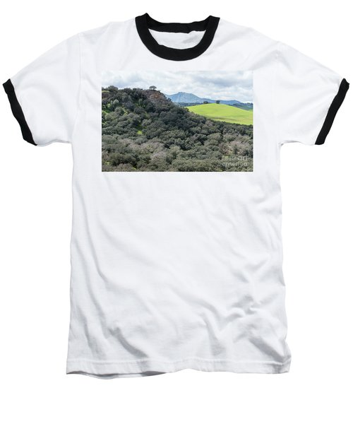 Baseball T-Shirt featuring the photograph Sierra Ronda, Andalucia Spain 2 by Perry Rodriguez