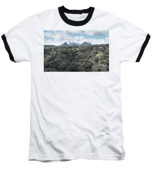 Baseball T-Shirt featuring the photograph Sierra Ronda, Andalucia Spain by Perry Rodriguez