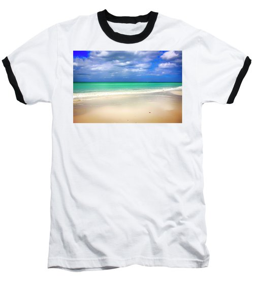 Siesta Key Beach Florida  Baseball T-Shirt