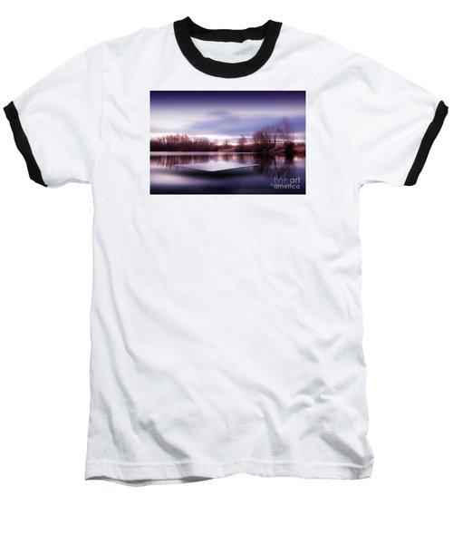 Baseball T-Shirt featuring the photograph Silence Lake  by Franziskus Pfleghart