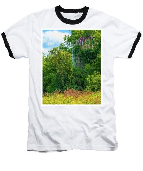 Silent Silo On Nottleson Road Baseball T-Shirt by Trey Foerster