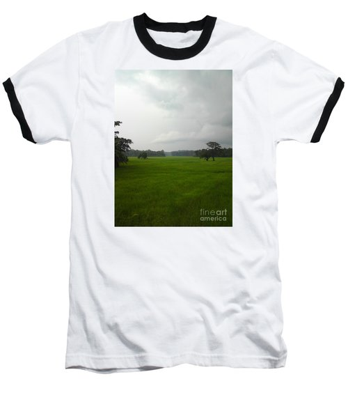 Baseball T-Shirt featuring the photograph Simple Green by Rushan Ruzaick