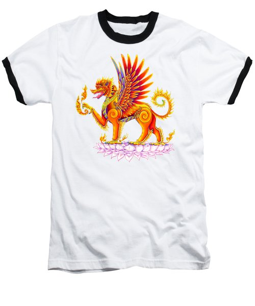 Singha Winged Lion Baseball T-Shirt