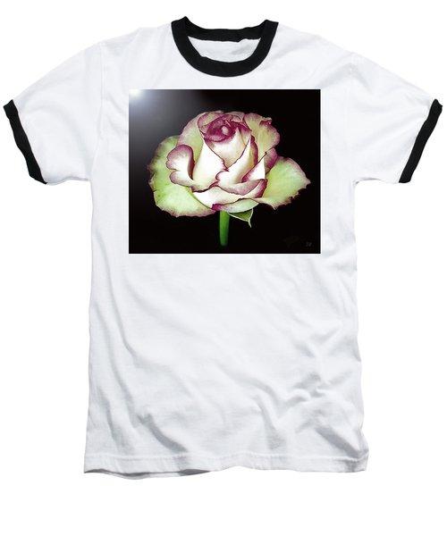 Single Beautiful Rose Baseball T-Shirt