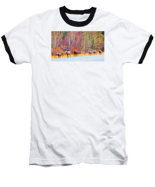 Single File For Safety Baseball T-Shirt