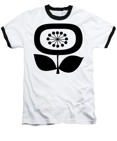 Single Flower 2 Transparent Baseball T-Shirt