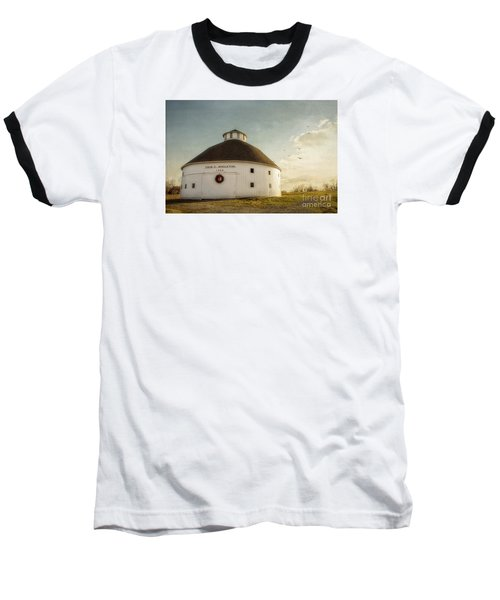 Singleton Round Barn Baseball T-Shirt