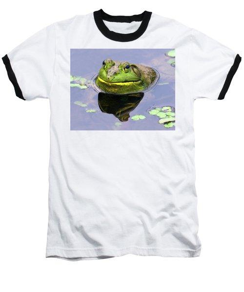 Sir Bull Frog Baseball T-Shirt
