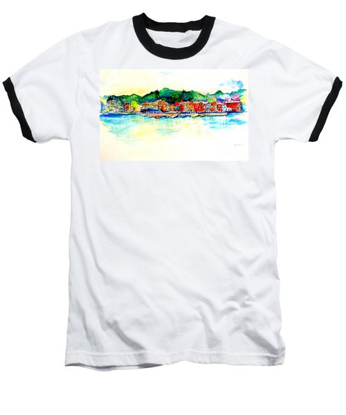 Skaneatelels Ny Baseball T-Shirt