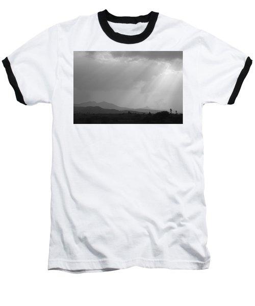 Skc 4928 Blessings Are Showering Baseball T-Shirt by Sunil Kapadia