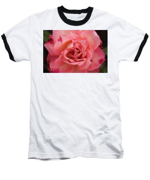 Skc 4942 The Pink Harmony Baseball T-Shirt by Sunil Kapadia