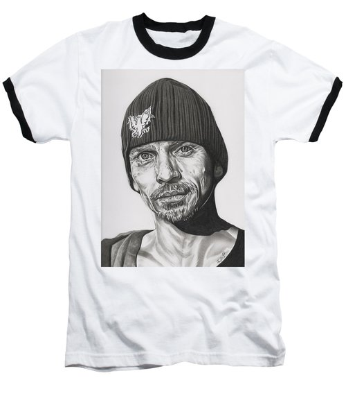 Skinny Pete  Breaking Bad Baseball T-Shirt by Fred Larucci