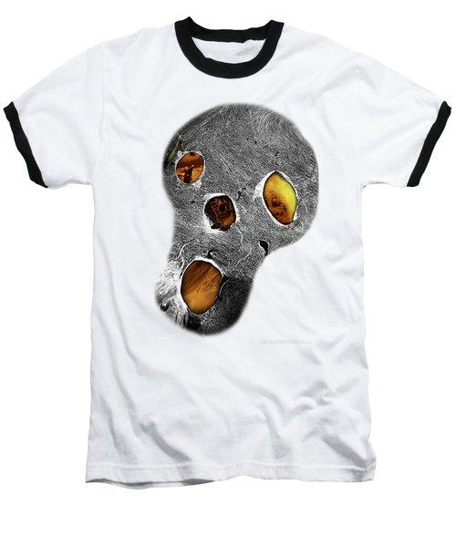 Skull Burn Baseball T-Shirt