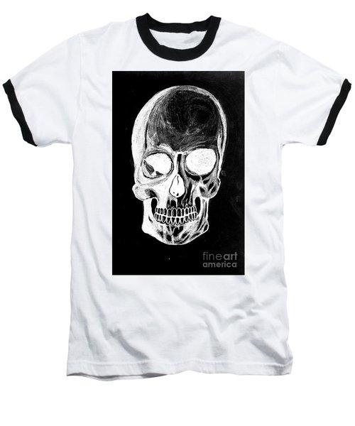 Skull Study 3 Baseball T-Shirt