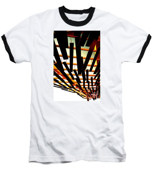 Sky Chasm Baseball T-Shirt by Cathy Dee Janes