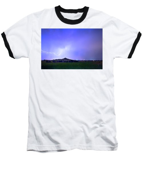 Baseball T-Shirt featuring the photograph Sky Monster Above Haystack Mountain by James BO Insogna
