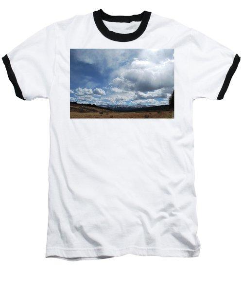 Sky Of Shrine Ridge Trail Baseball T-Shirt by Amee Cave