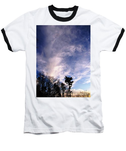 Baseball T-Shirt featuring the photograph Sky Study 2 3/11/16 by Melissa Stoudt