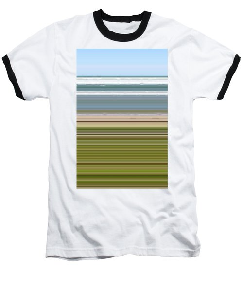 Sky Water Earth Grass Baseball T-Shirt