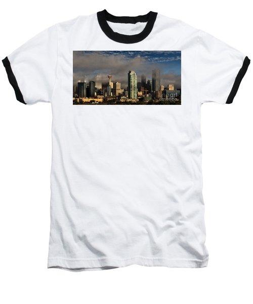 Skyline Fog Baseball T-Shirt