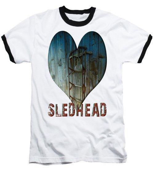 Sledhead Baseball T-Shirt