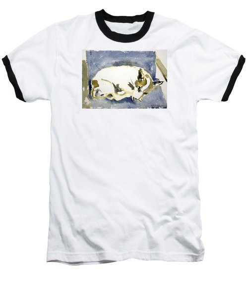 Sleeping Dog Baseball T-Shirt