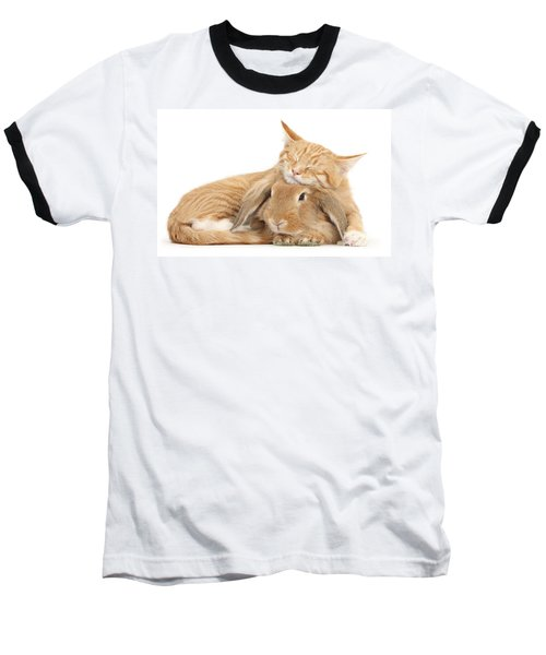 Sleeping On Bun Baseball T-Shirt