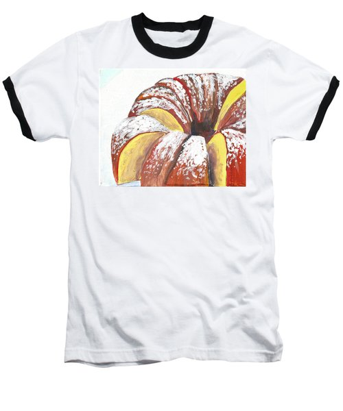 Sliced Bundt Cake Baseball T-Shirt