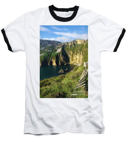 Baseball T-Shirt featuring the photograph Slieve League Cliffs Eastern End by RicardMN Photography