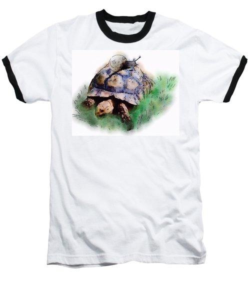 Slow Down You Will Kill Us Both Baseball T-Shirt