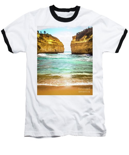 Baseball T-Shirt featuring the photograph Small Bay by Perry Webster