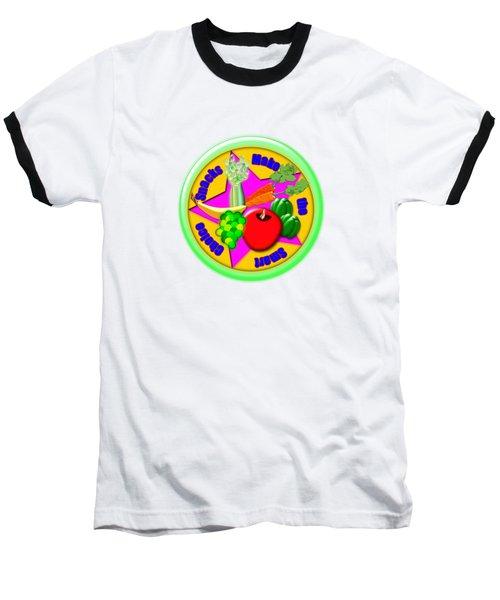 Smart Snacks Baseball T-Shirt by Linda Lindall