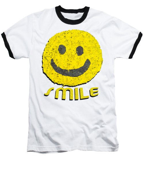 Smile Baseball T-Shirt