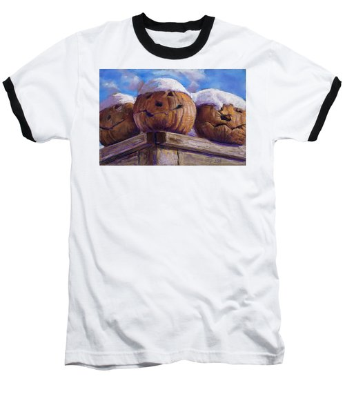 Baseball T-Shirt featuring the pastel Smilin Jacks by Billie Colson