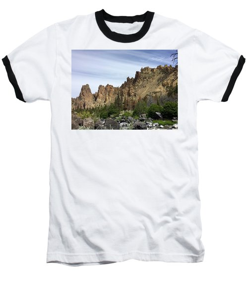 Smith Rocks Baseball T-Shirt