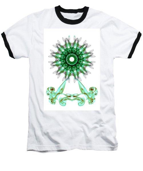 Smoke Wheel Baseball T-Shirt