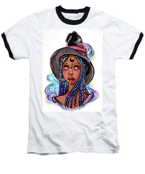 Smoke Witch Baseball T-Shirt