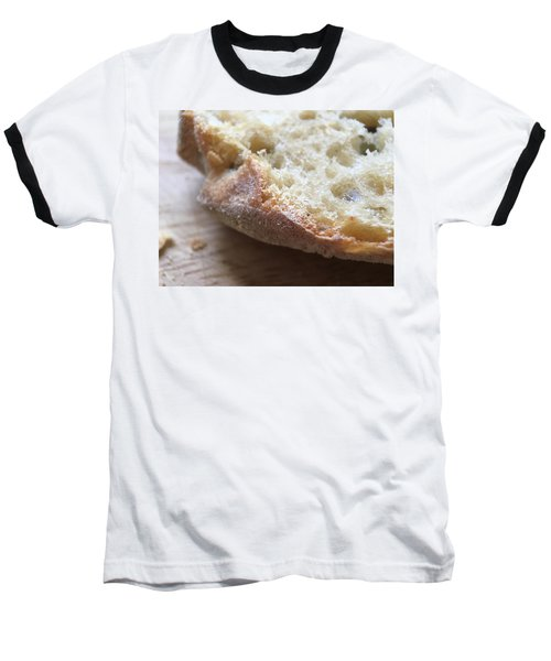 Smoked Prosciutto Open Sandwich Olive Ciabatta Roll Baseball T-Shirt