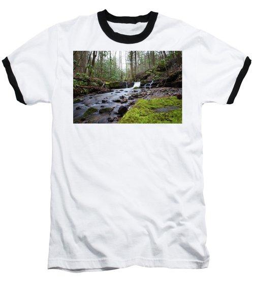 Smokey Mountains 4 Baseball T-Shirt