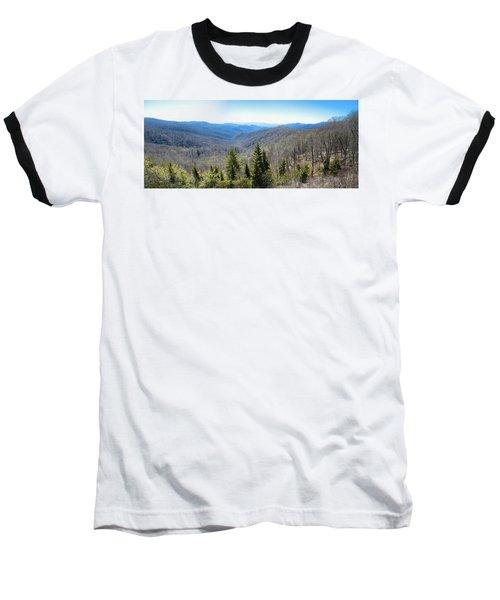 Smokey Mountains Pan Baseball T-Shirt