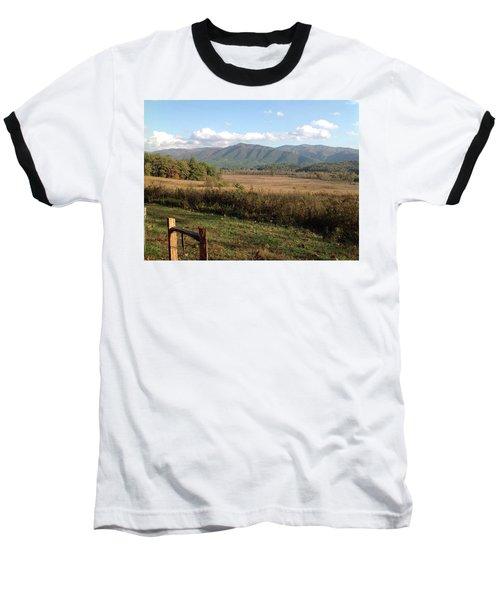 Smokies 1 Baseball T-Shirt by Val Oconnor