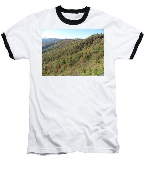 Smokies 19 Baseball T-Shirt by Val Oconnor