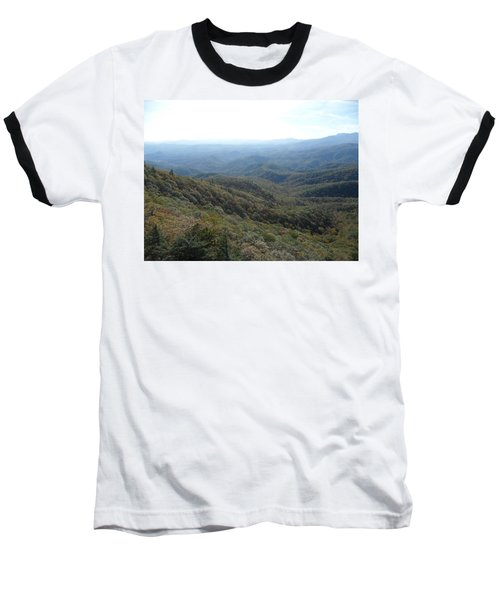 Smokies 20 Baseball T-Shirt by Val Oconnor