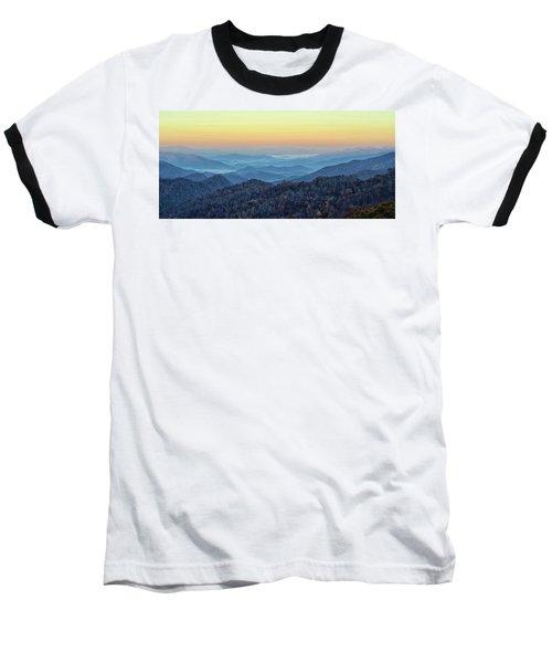 Smoky Mountains Baseball T-Shirt by Nancy Landry
