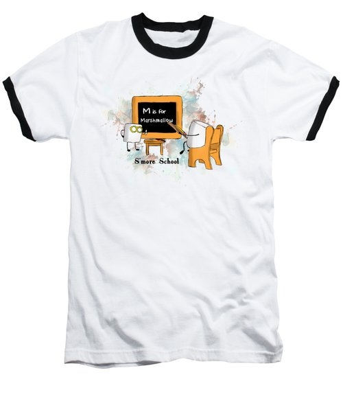 Smore School Illustrated Baseball T-Shirt
