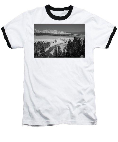 Snake River View Baseball T-Shirt