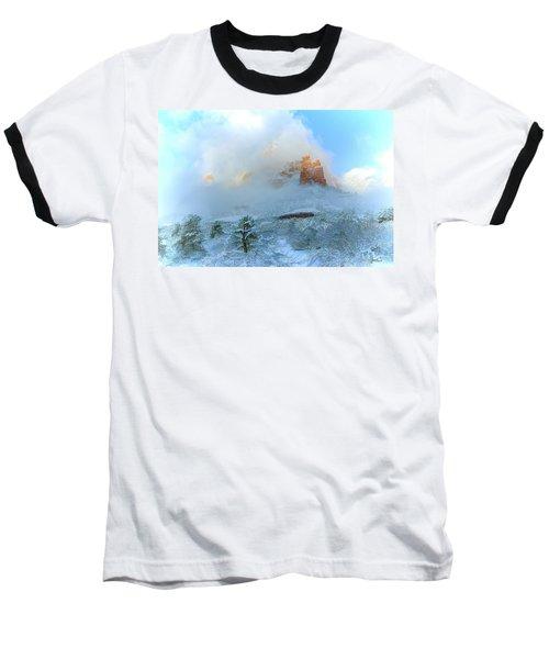 Snow 07-104 Baseball T-Shirt by Scott McAllister