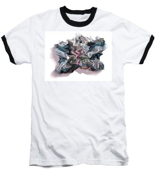 Snow Capped Cloth Baseball T-Shirt