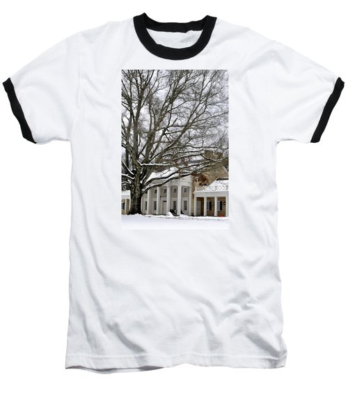 Snow Cover Baseball T-Shirt