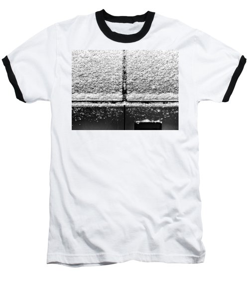 Baseball T-Shirt featuring the photograph Snow Covered Rear by Robert Knight